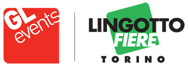 Logo GL Events e Lingotto Fiere